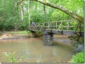 Bridge over Lick Creek
