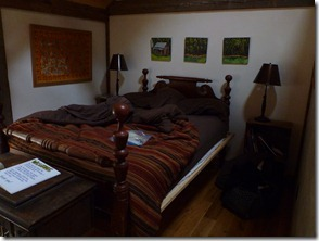 Our room at Woods Hole Hostel