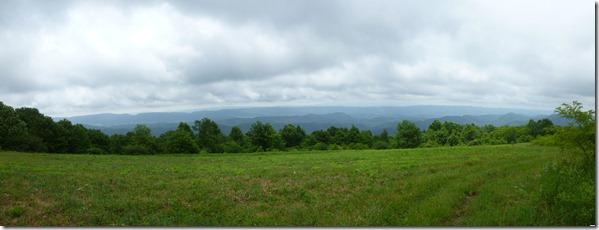Panoramic from Chestnut Ridge